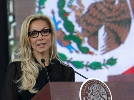 Alejandra Lagunes, la mujer del sexenio.